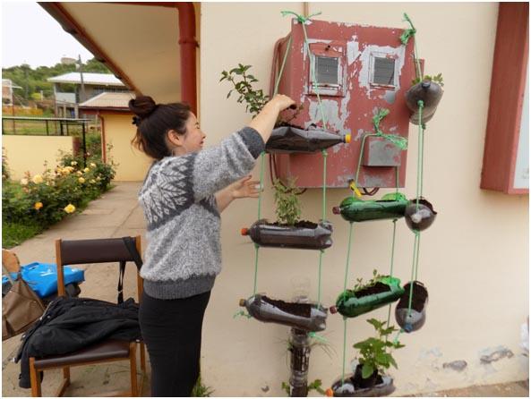 Centro de Agricultura Orgánica de la UV realizó taller para usuarias del Cesfam Boco