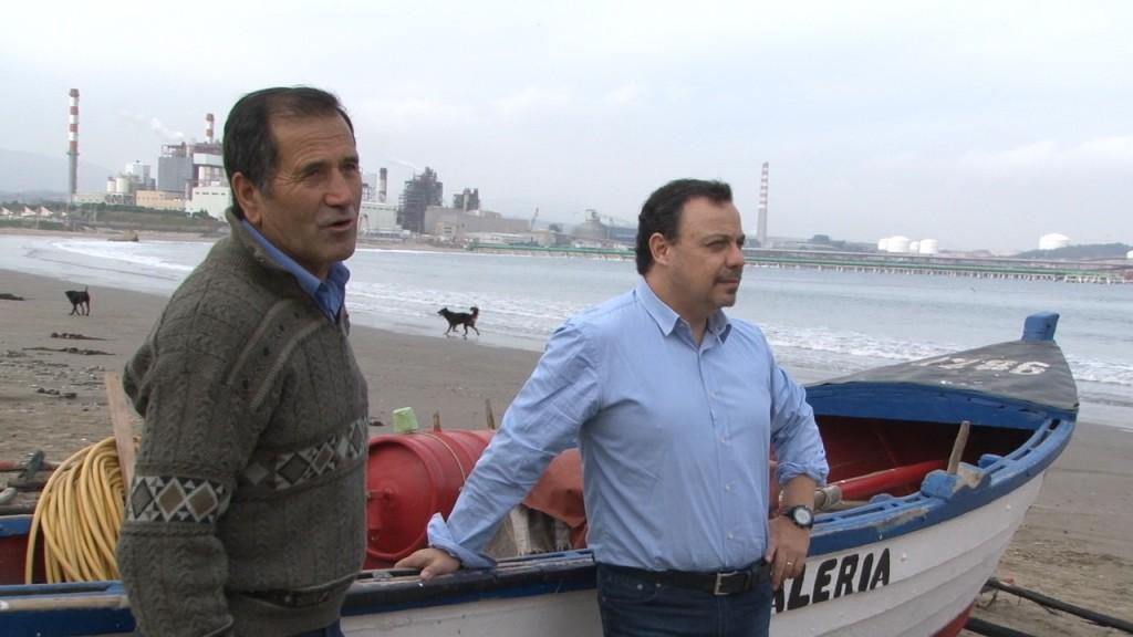 UV transferirá a pescadores de Quintero tecnología para recuperar zona dañada por petróleo