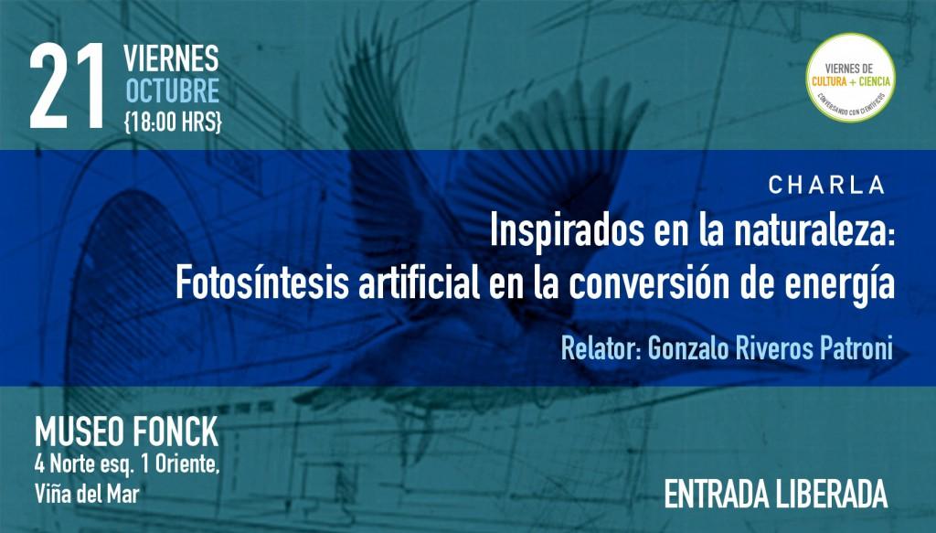 Investigador participará en Viernes de Cultura + Ciencia sobre Biomimética