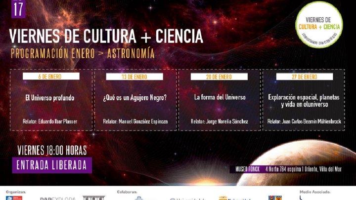 Con investigador de la UV se iniciarán Viernes de Cultura + Ciencia 2017 de Explora