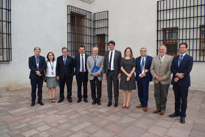 CRUCh se reúne por primera vez con Ministro y Subsecretaria de Ciencias