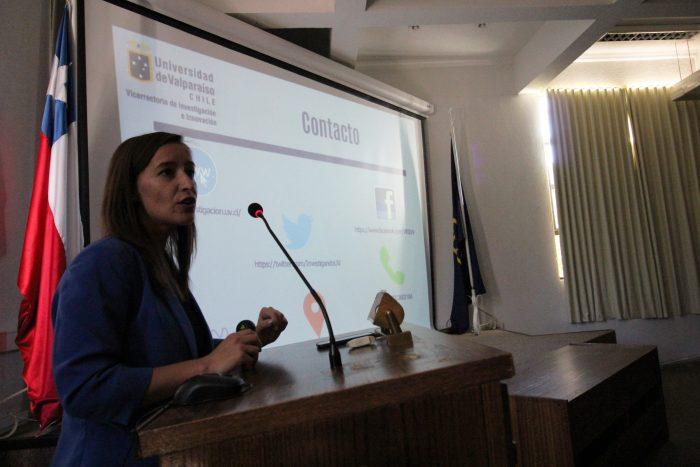 Investigadores de San Felipe se capacitan en Fondos Concursables