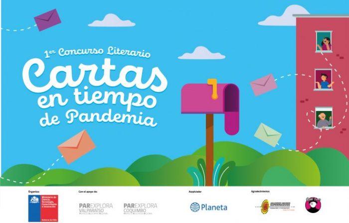 Extienden plazo de postulación a Concurso Literario «Cartas en tiempo de Pandemia»