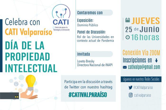 Celebra el Día Internacional de la Propiedad Intelectual con CATI Valparaíso