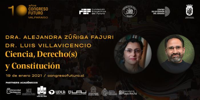 Docentes de Derecho UV participarán en Congreso Futuro Región de Valparaíso