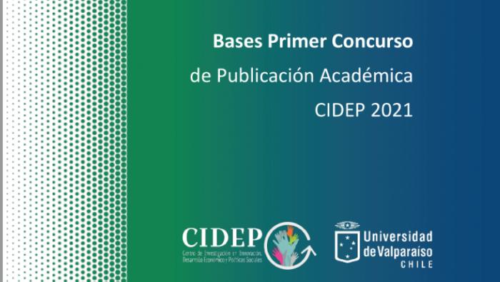 CIDEP abre convocatoria para Primer Concurso  de Publicación Académica 2021