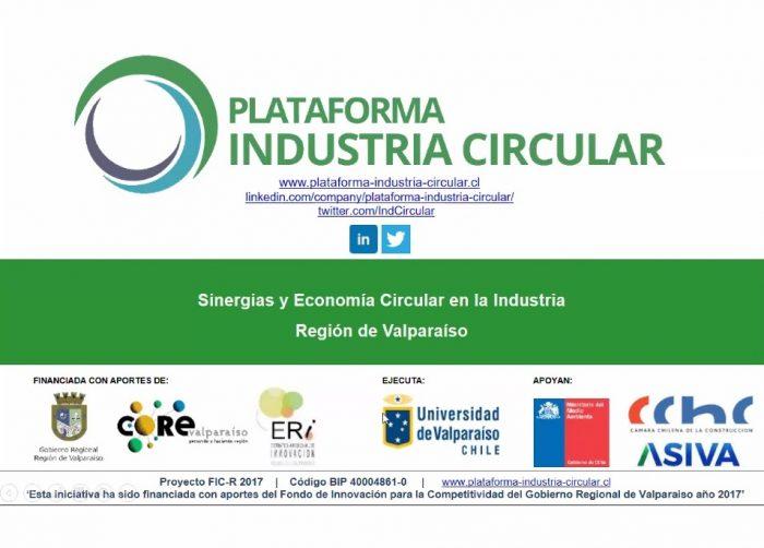 Presentan Plataforma Industria Circular luego  de dos años de trabajo colaborativo