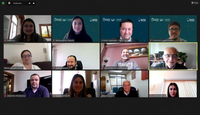 Decanos participaron en encuentro que busca socializar Proyecto InES Innova UV