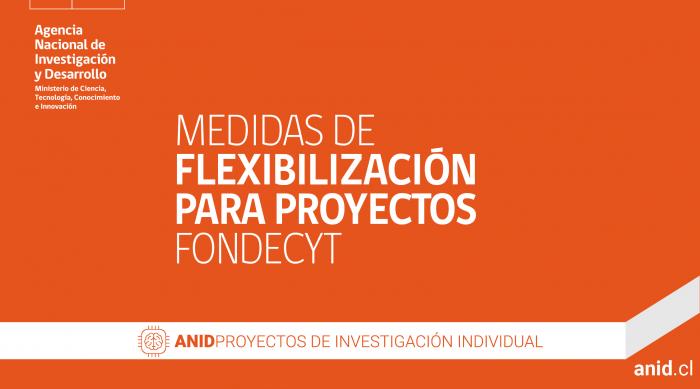 ANID anuncia medidas de flexibilización para proyectos Fondecyt