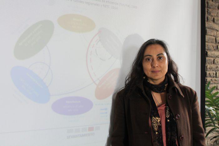 Investigadora UV participó en Jornada Regional de Economía Circular en la Construcción